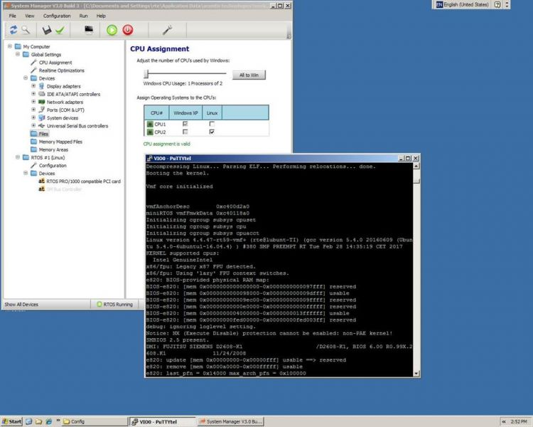 LxWin Real-time Hypervisor: Windows Real-time Linux